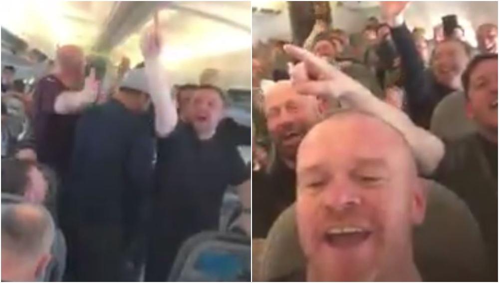 Aficionados del Liverpool, rumbo a Kiev
