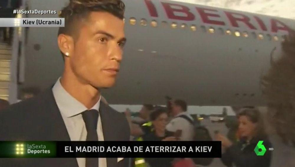 El Real Madrid ya está en Kiev para la final de la Champions