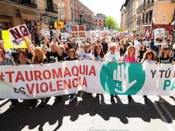 El movimiento antitaurino convoca una gran manifestación el 27 de mayo