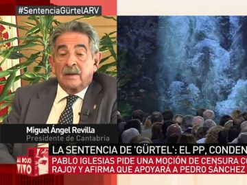 Miguel Ángel Revilla, en Al Rojo Vivo
