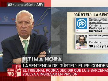 José Manuel García Margallo, en Al Rojo Vivo