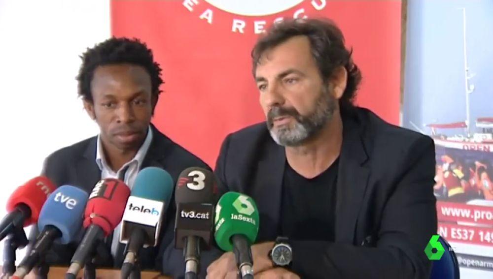 Proactiva Open Arms viaja a África para concienciar del peligro de cruzar a Europa
