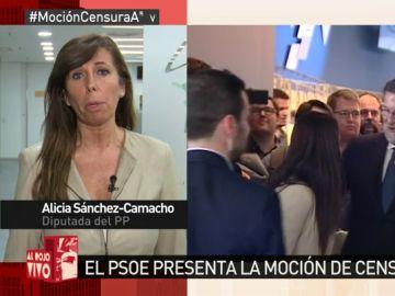 Alicia Sánchez-Camacho, en Al Rojo Vivo
