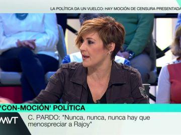 Cristina Pardo, en Más Vale Tarde