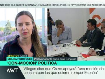 Melisa Rodríguez, en Más Vale Tarde
