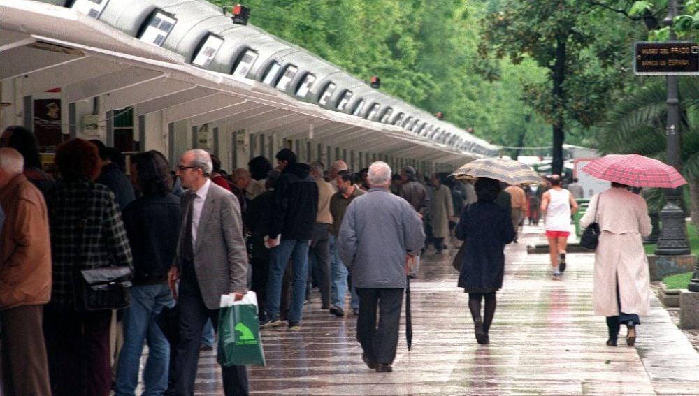 Imagen de archivo de una Feria del Libro