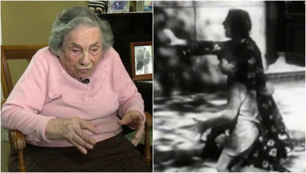 Antoñita Carratalá, superviviente del bombardeo de Alicante en 1938