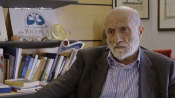Fundador de la filosofía 'Slow Food', Carlo Petrini