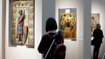 Destrozan con un poste metálico el cuadro 'Iván el Terrible y su hijo' en una Galería de Moscú