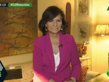 """Carmen Calvo, sobre la moción de censura del PSOE: """"La propuesta de Ciudadanos es torcer la Constitución"""""""