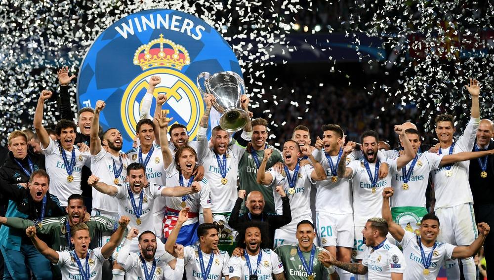 Sergio Ramos levanta la Copa de Europa en Kiev