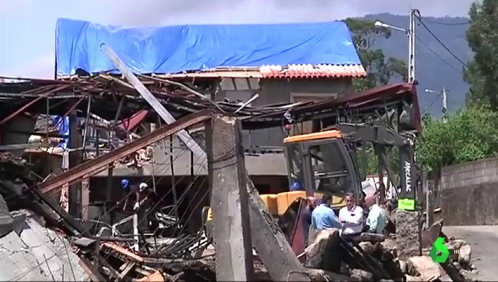 Los vecinos de Tui crean una plataforma para exigir las ayudas necesarias para reconstruir sus casas tras la explosión
