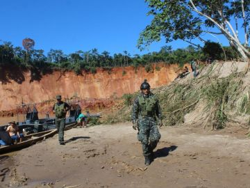 Dispositivo de búsqueda de los menores desaparecidos en Perú