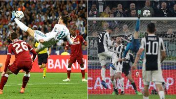 La chilena de Bale y la de Cristiano Ronaldo
