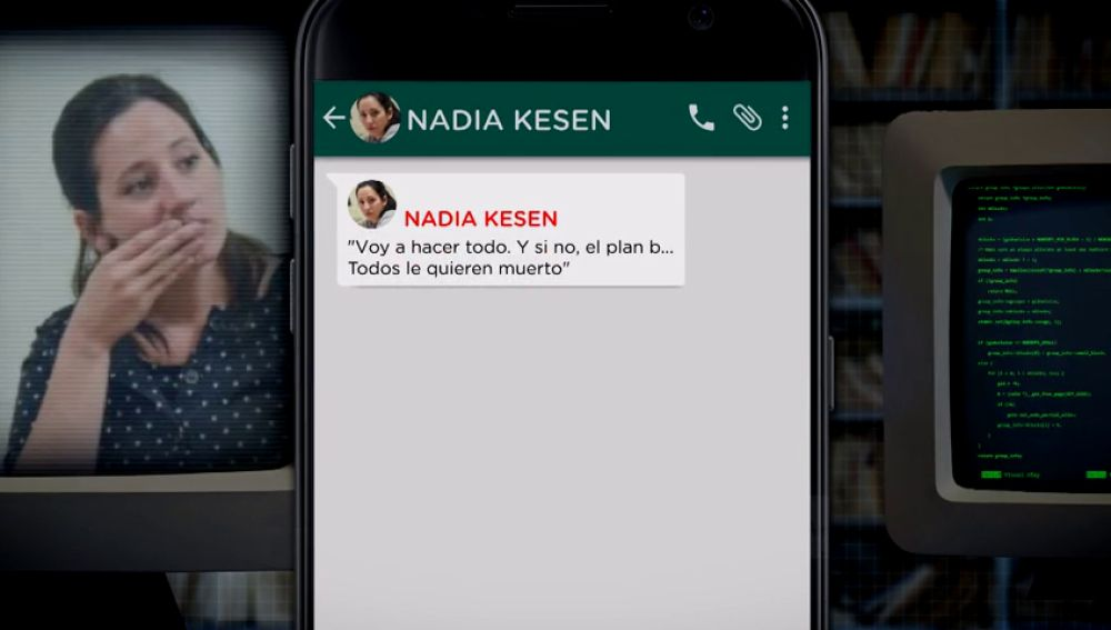 Mensajes de Nadia Kesen