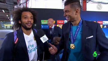 """La genial conversación entre Marcelo y Casemiro tras ganar la Champions: """"Estás mejor que yo, cabrón"""""""