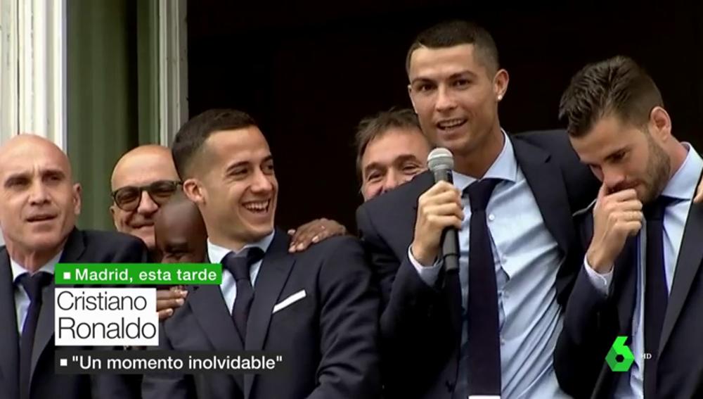 """Cristiano: """"Hemos hecho historia, es un momento de felicidad"""""""