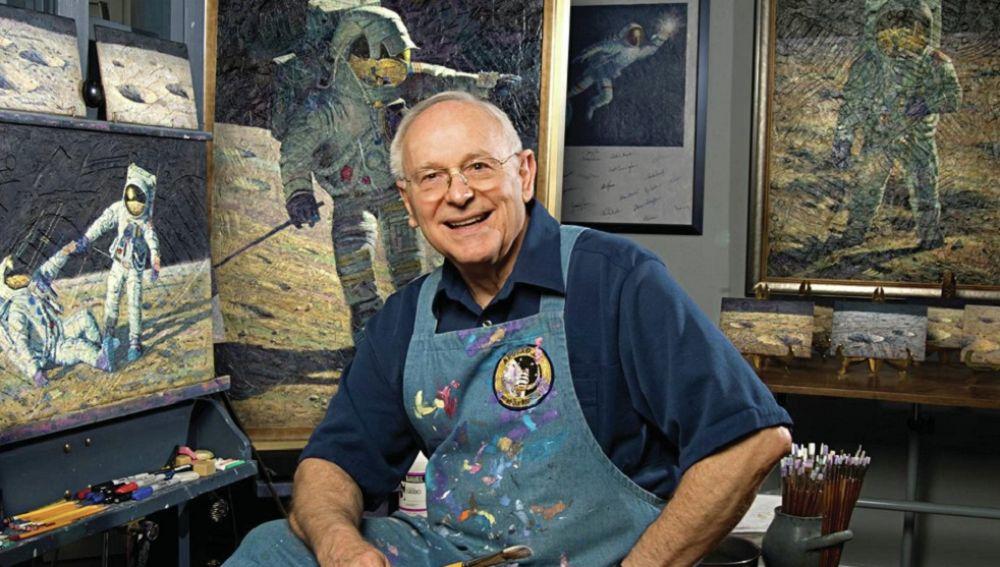 El astronauta Alan Bean