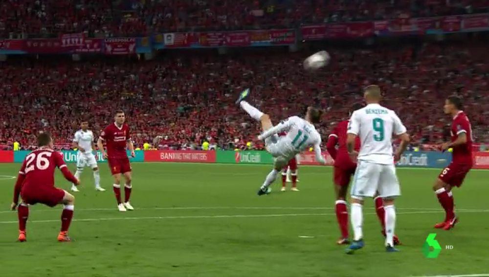 La chilena de Bale en Kiev, un gol que ya es historia de la Champions