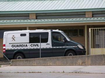 Furgón de la Guardia Civil
