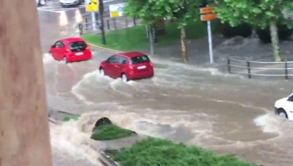 Inundación en Salamanca