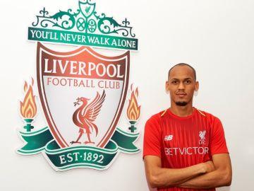 Fabinho Tavares, nuevo jugador del Liverpool