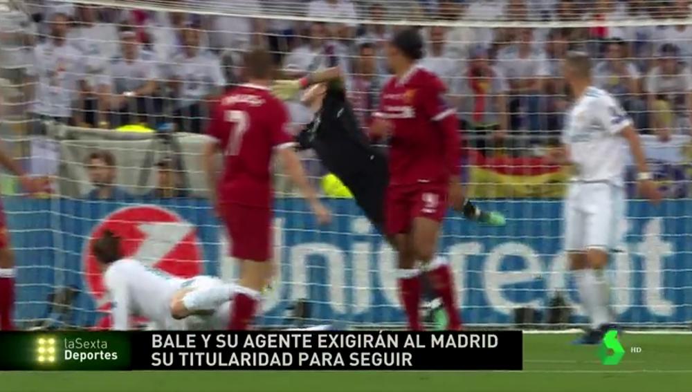 Gareth Bale exigirá ser titular la próxima temporada para quedarse, según ha podido saber la Sexta Deportes