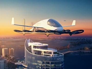 """Skyport rascacielos en Miami  """"coches voladores"""""""