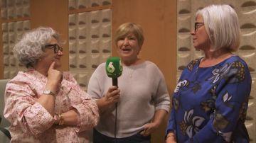 Así vivió Carmina su charla con Roger Torrent, Miquel Iceta e Inés Arrimadas en el Parlament