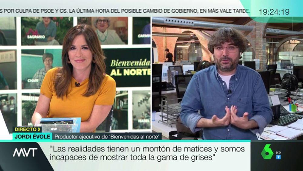 """Jordi Évole: """"En todo gran colectivo hay algún cabrón, pero la mayoría no lo es; quiere entendimiento y convivencia"""""""