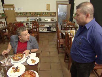 Alberto Chicote en Pesadilla en la cocina: A Cañada