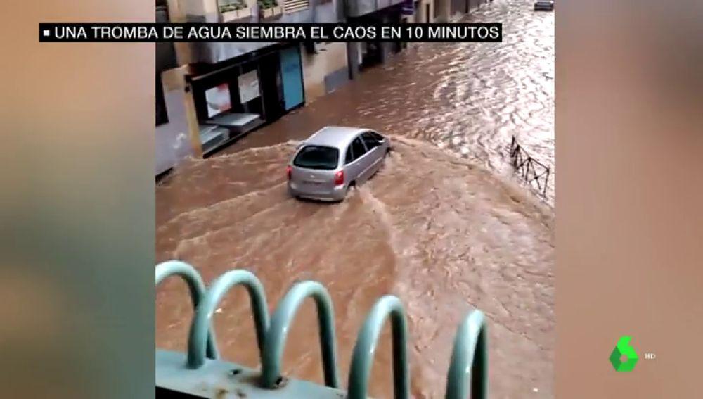 Tromba de agua en Salamanca