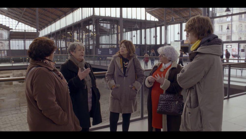 Las abuelas de Bienvenidas al norte con Albert