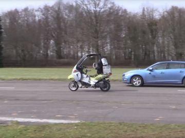 AB Dynamics ha comenzado a trabajar en una moto autónoma