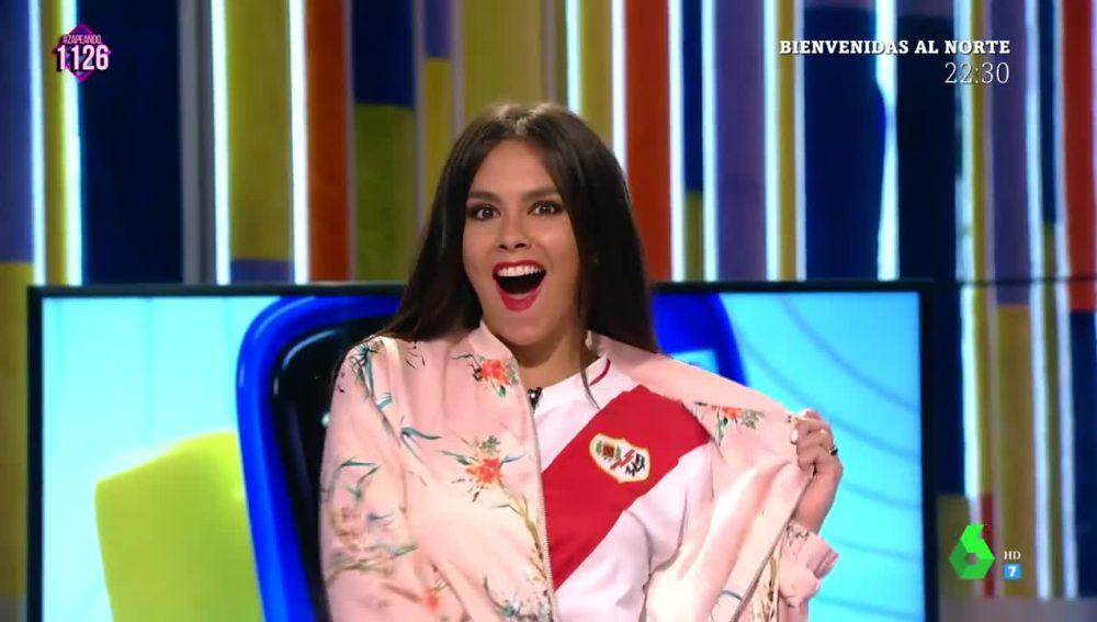 """La efusiva celebración de Cristina Pedroche porque """"¡el Rayo es de Primera!"""""""