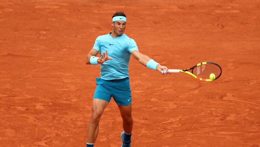 Nadal, en su debut en Roland Garros