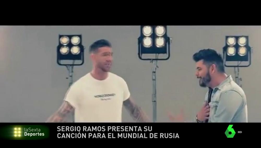 """Sergio Ramos presenta su nueva canción con Demarco para el Mundial de Rusia: """"¡Vamos España, alza tu voz!"""""""