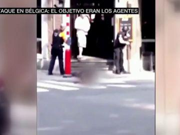 Imágenes del ataque en Bélgica