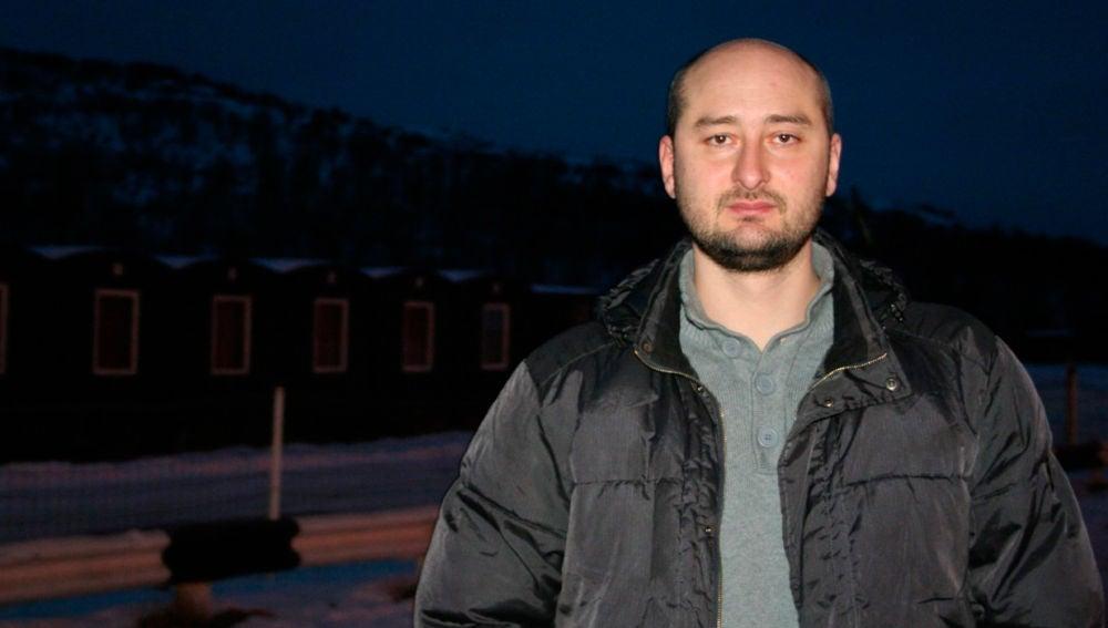 Arkadi Babchenko, periodista ruso