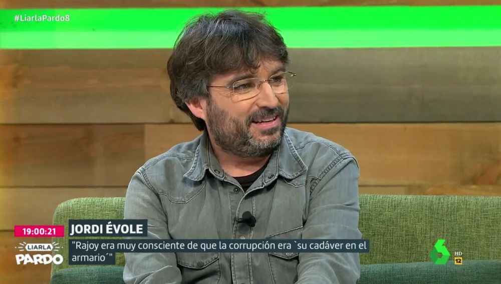 Jordi Évole, en Liaral Pardo