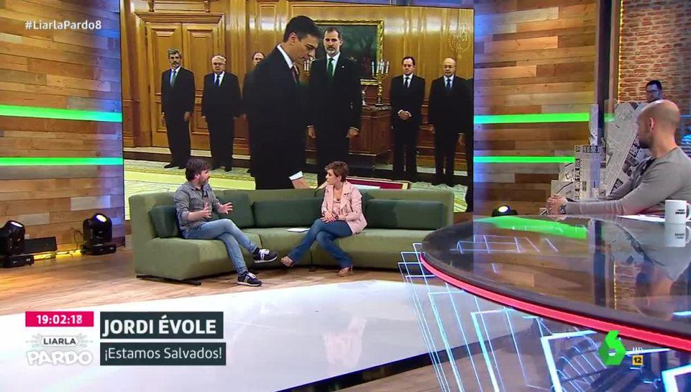 El periodista Jordi Évole, en Liarla Pardo
