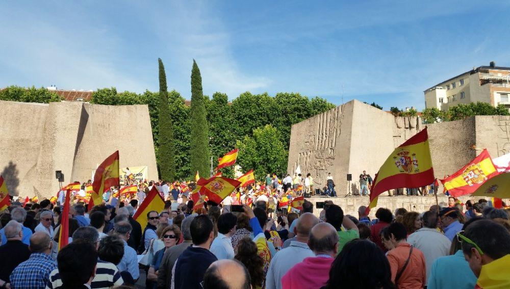 Manifestación de VOX en Colón