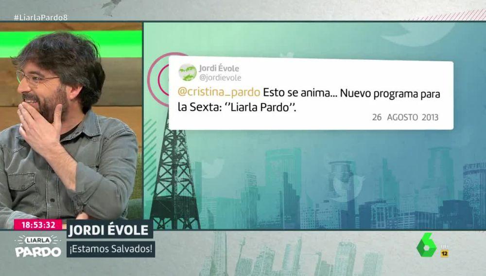 Jordi Évole ya predijo en 2013 que Cristina Pardo estaría en Liarla Pardo