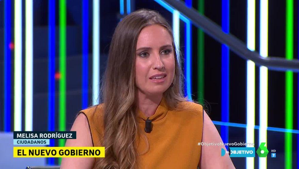 Melisa Rodríguez, de Ciudadanos