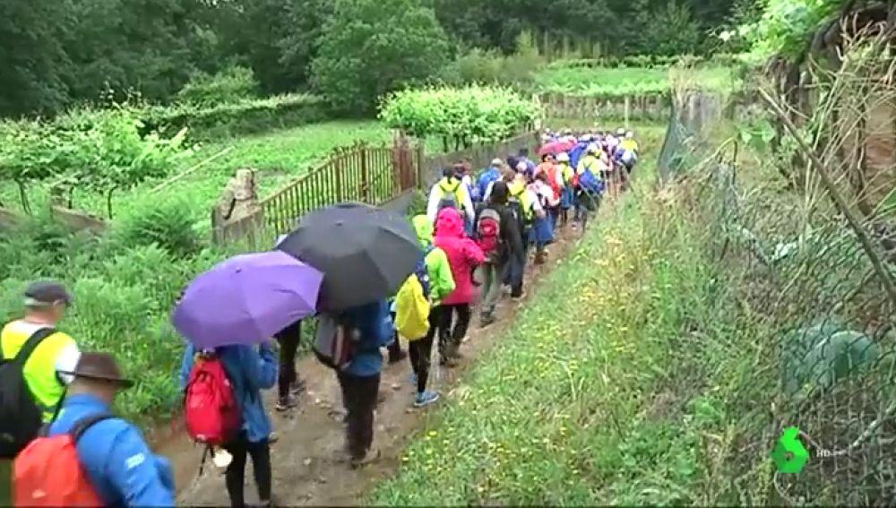 Un centenar de personas diabéticas recorrerán 120 kilómetros del Camino de Santiago