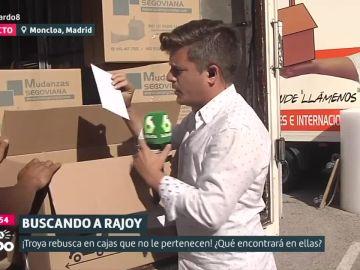 Liarla Pardo 'accede' a una caja extraviada en la mudanza de Mariano Rajoy
