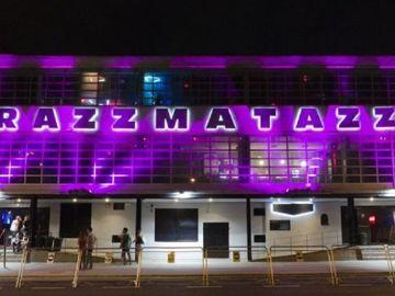 Entrada de la sala Razzmatazz en Barcelona