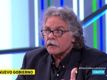 Joan Tardà, diputado de ERC