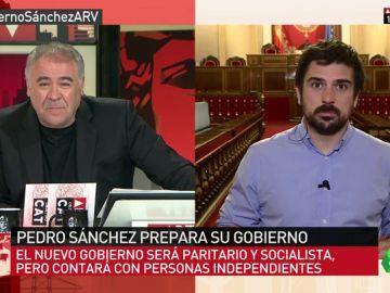 """<p>Ramón Espinar: """"El PP está disparando en círculos y en una actitud macarra y contraria a los intereses del país""""</p>"""