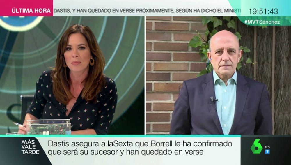 """<p>José Antonio Zarzalejos da pistas del nuevo Gobierno del PSOE y analiza el 'fichaje' de Borrell: """"Es un mensaje potente de Sánchez""""</p>"""